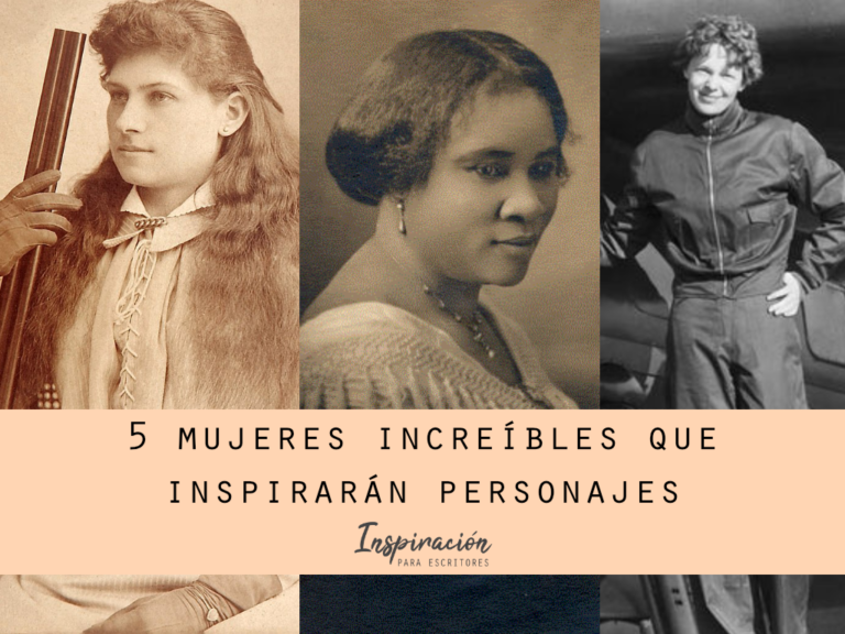 5 mujeres increíbles que te inspirarán para tus personajes