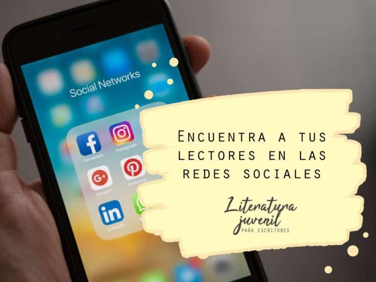 15. Encuentra a tus lectores en las redes sociales