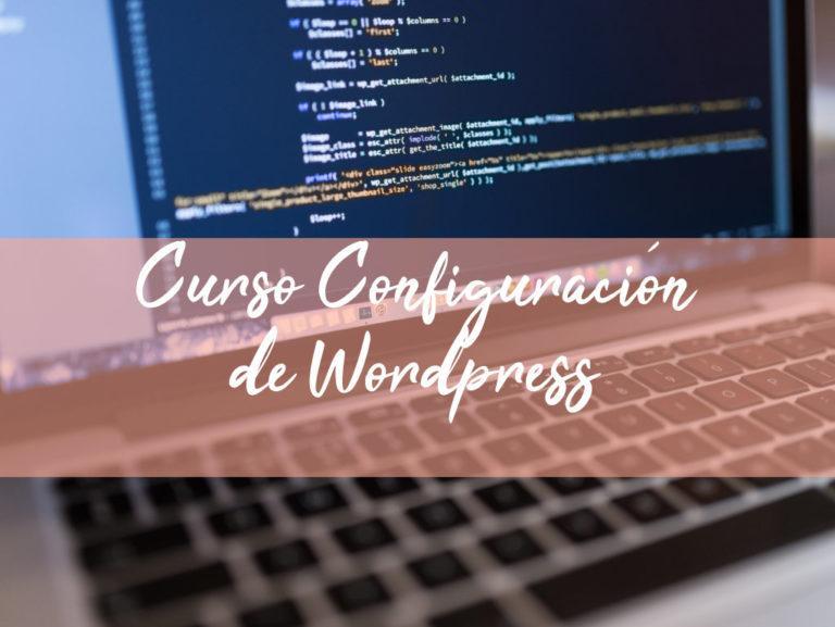 Curso Configuración de Wordpress