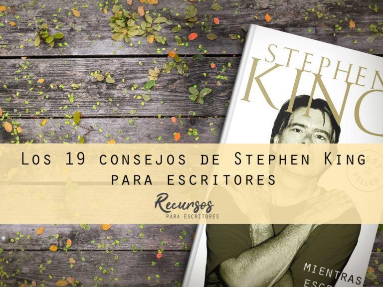 Los 19 consejos de Stephen King para escritores