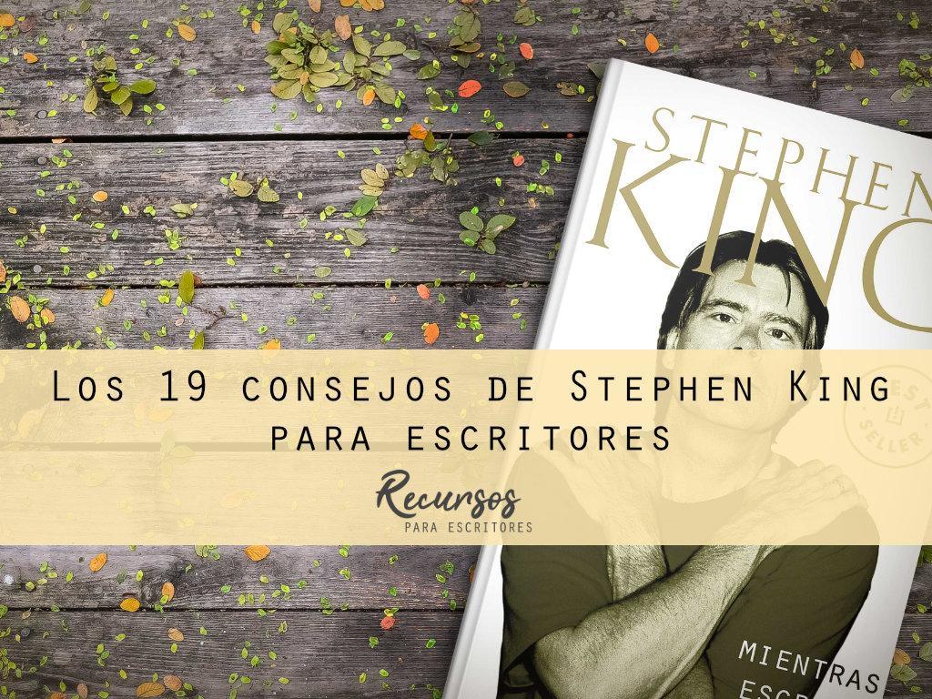 consejos de Stephen King para escritores