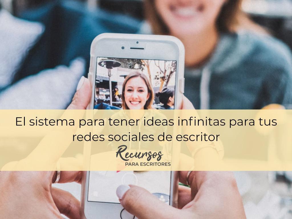 redes sociales de escritor instagram